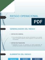 Presentación Riesgo Operacional