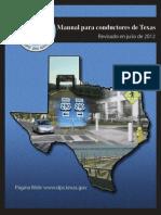 Manual de Conducir de Texas 2012