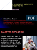 4. Dr. Makbul -Anti Oxidant and Diabetes PDGKI Conress Clarion 2015 Makbul