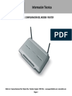 Configuracion de Modem-Router F5D7633