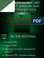 Manajemen Strategis BSC