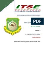 Isma6 Redes u2 Investigacion Yolandatorres