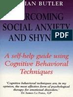 Gillian Butler - Overcoming Social Anxiety & Shyness