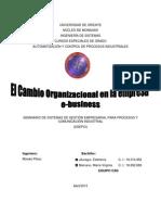 Unidad II - Tema 3 El Cambio Organizacioinal en La Empresa E-business - CAD