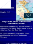 chapter 20 - section 1 - war in the 1960s