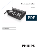 FAX RECEPTIE Usermanual_hfc325