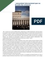 Francisco- Llamamiento a La Comunidad Internacional Por Los Crímenes 6-4-15 El Papa Pide a La Comunidad Internacional Que No Permanezca Muda Ante Lo