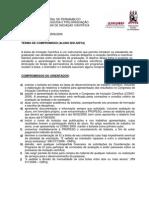 Termo Compromisso PIBIC 2008 Bolsista