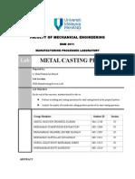 CASTING REPORT LAB.doc