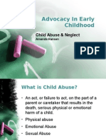 advocacy in early childhood