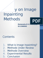 Image Inpainting Methods