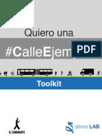Quiero una #CalleEjemplar