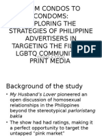 Thesis Presentation on LGBTQ-targeted Advertising