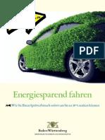 Energiesparend Fahren 2012
