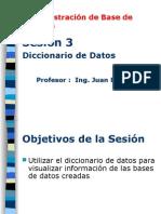 ABD - Semana 03 - Dicccionario_Datos