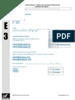 Exercicios de Excel Microlins 02-1 Potencia