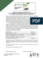 Formato Acta de Terminacion y Liquidacion Anticipada