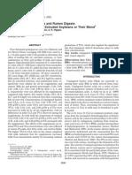 Fatty Acid Profiles in milk