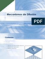 Difucion materiales