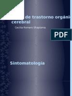 Tipos de Trastorno Orgánico Cerebral