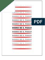 Manual de Produção Gráfica Do ''Diário de S. Paulo''