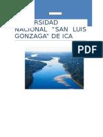 Comparacion Entre La Ley General de Agua y La Ley de Recursos Hidricos