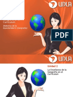 Unidad II - La Enseñanza de La Geografía en El Curriculum