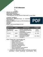 Mahmood CV