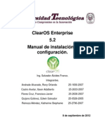 MANUAL ClearOS Enterprise.
