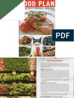 Tapout XT Plan de Nutrición