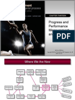 Chapter 13 - Progress & Performance Measurement