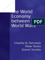 """The World Economy between the World Wars"" by Charles H. Feinstein, Peter Temin & Gianni Toniolo"