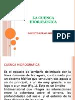 La Cuenca Hidrologica Corregida