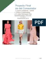 Proyecto Final Analisis Del Consumidor 2015