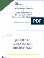 Auditorías de Servicio y La Implementación De