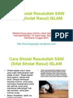 cara sholat rasulullah saw (sifat sholat rasul).ppt