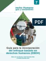 Agua y Saneamiento con perspectiva de género