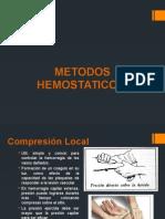 METODOS HEMOSTATICOS