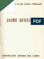 Quién Es Quién en Las Letras Chilenas