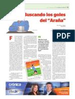 """BUSCANDO LOS GOLES DEL """"ARAÑA"""" (Marcos J. Villalobo)"""