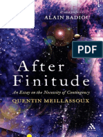 Meillassoux - After Finitude