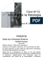 Clase Nº 01 Historia de la Patologia.ppt