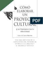Elaborar Un Proyecto Cultural