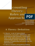ACCOUNTING APPROACHES
