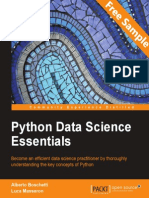 Python Data Science Essentials - Sample Chapter