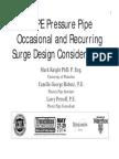 Surge Analysis