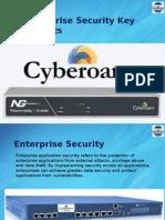 Enterprise Security Key Highlights