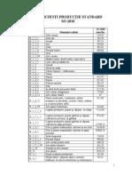 Lista Coeficientilor de Productie Standard SO2010(1)