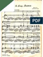 Dahil Sa Isang Bulaklak Music Sheet