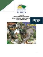 Plan Ordenamiento Territorial Pastaza 2012